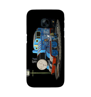 Banksy Thomas the Tank Engine Phone Case Samsung S7