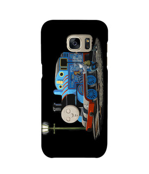 Banksy Thomas the Tank Engine Phone Case Samsung S7 Edge