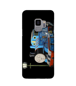 Banksy Thomas the Tank Engine Phone Case Samsung S9