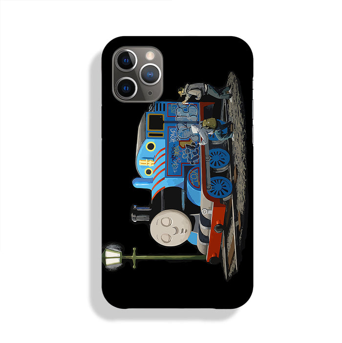 Banksy Thomas the Tank Engine Phone Case