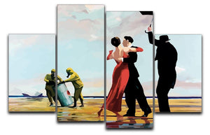 Banksy Toxic Beach 4 Split Panel Canvas  - Canvas Art Rocks - 1