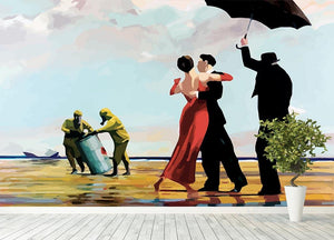 Banksy Toxic Beach Wall Mural Wallpaper - Canvas Art Rocks - 4
