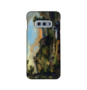 Banksy Vandalised Car Phone Case Samsung S10e