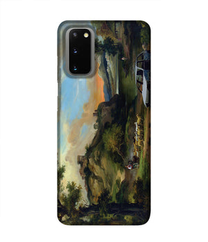 Banksy Vandalised Car Phone Case Samsung S20