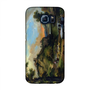 Banksy Vandalised Car Phone Case Samsung S6