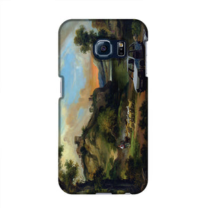 Banksy Vandalised Car Phone Case Samsung S6 Edge