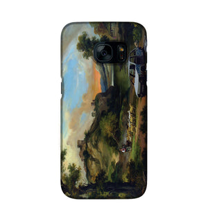 Banksy Vandalised Car Phone Case Samsung S7