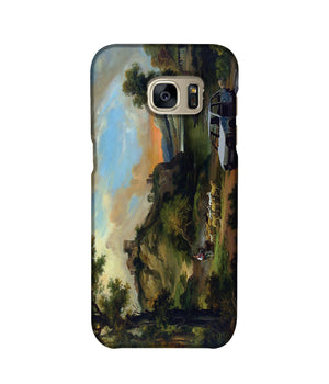Banksy Vandalised Car Phone Case Samsung S7 Edge