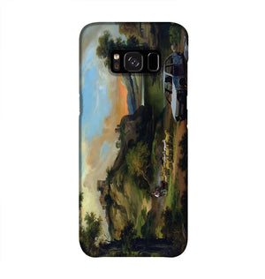 Banksy Vandalised Car Phone Case Samsung S8
