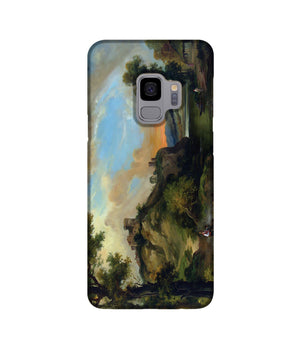 Banksy Vandalised Car Phone Case Samsung S9