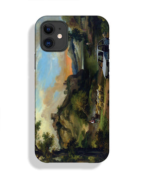 Banksy Vandalised Car Phone Case iPhone 11