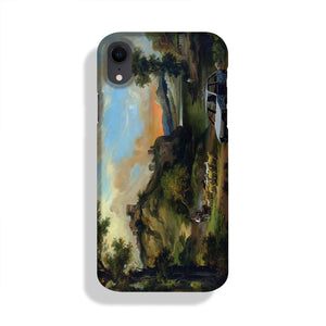 Banksy Vandalised Car Phone Case iPhone XR