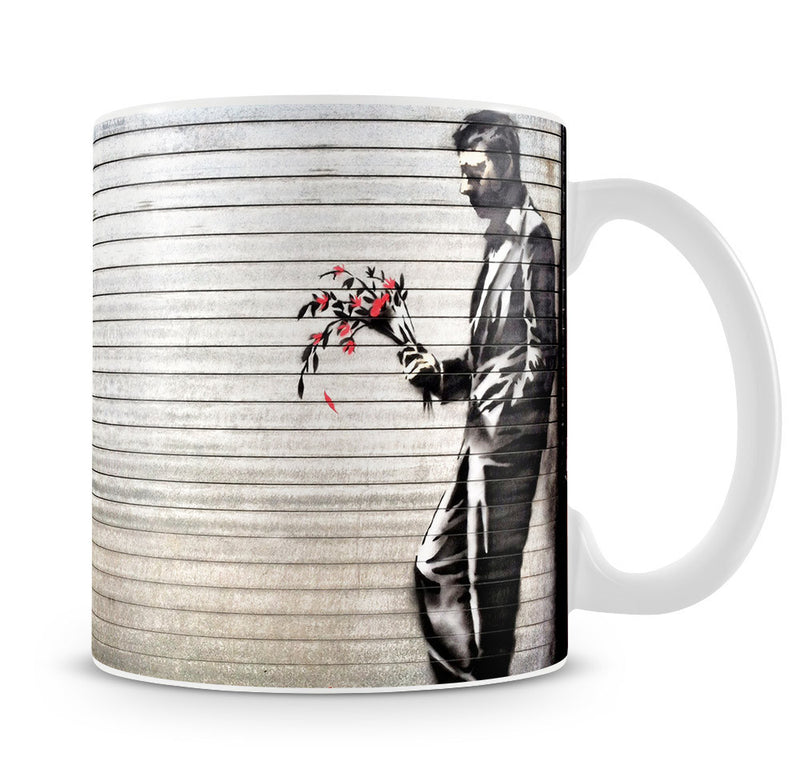 Banksy Waiting in Vain Mug - Canvas Art Rocks