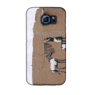 Banksy Washing Zebra Stripes Phone Case Samsung S6