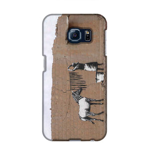Banksy Washing Zebra Stripes Phone Case Samsung S6 Edge