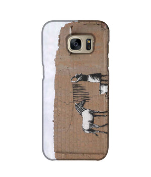 Banksy Washing Zebra Stripes Phone Case Samsung S7 Edge