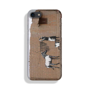 Banksy Washing Zebra Stripes Phone Case iPhone XE