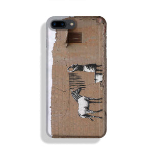 Banksy Washing Zebra Stripes Phone Case iPhone 7/8 Max