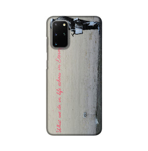Banksy What We Do In Life Phone Case Samsung S20 Plus