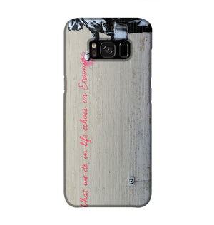 Banksy What We Do In Life Phone Case Samsung S8