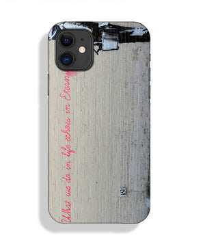 Banksy What We Do In Life Phone Case iPhone 11