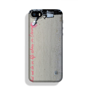 Banksy What We Do In Life Phone Case iPhone 5