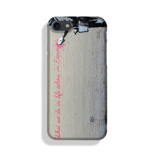 Banksy What We Do In Life Phone Case iPhone XE