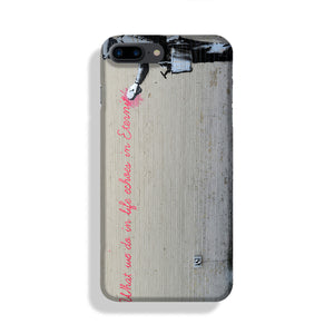 Banksy What We Do In Life Phone Case iPhone 7/8 Max