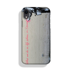 Banksy What We Do In Life Phone Case iPhone XR