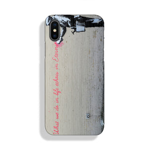 Banksy What We Do In Life Phone Case iPhone XS Max