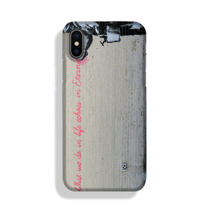 Banksy What We Do In Life Phone Case iPhone X/XS