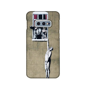 Banksy Window Lovers Phone Case Samsung S10e