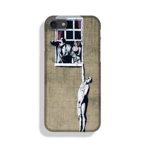 Banksy Window Lovers Phone Case iPhone XE