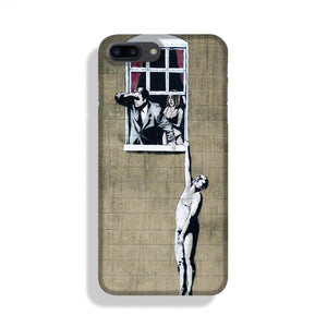Banksy Window Lovers Phone Case iPhone 7/8 Max