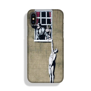 Banksy Window Lovers Phone Case iPhone X/XS