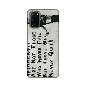 Banksy Winners Are Not Phone Case Samsung S20 Plus