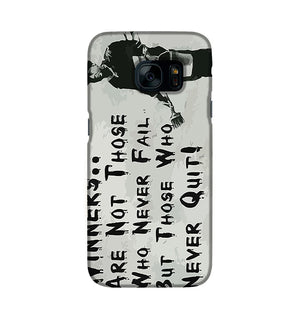 Banksy Winners Are Not Phone Case Samsung S7