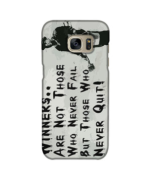 Banksy Winners Are Not Phone Case Samsung S7 Edge