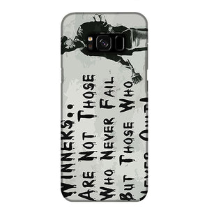 Banksy Winners Are Not Phone Case Samsung S8 Plus