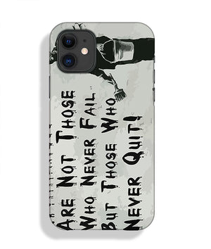 Banksy Winners Are Not Phone Case iPhone 11