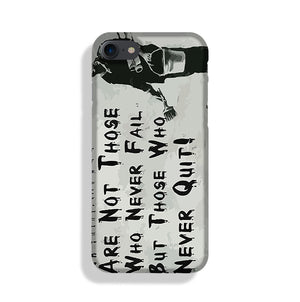 Banksy Winners Are Not Phone Case iPhone XE