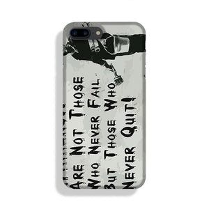 Banksy Winners Are Not Phone Case iPhone 7/8 Max