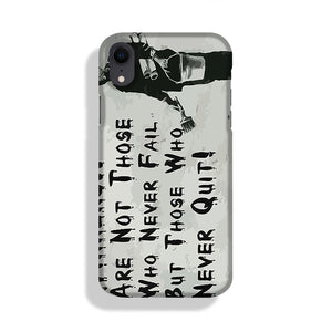 Banksy Winners Are Not Phone Case iPhone XR