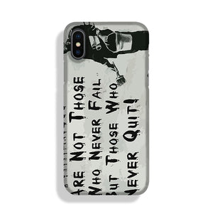 Banksy Winners Are Not Phone Case iPhone X/XS