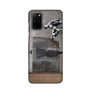Banksy Woman In Shower Phone Case Samsung S20 Plus