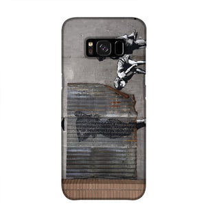 Banksy Woman In Shower Phone Case Samsung S8