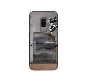 Banksy Woman In Shower Phone Case Samsung S9 Plus