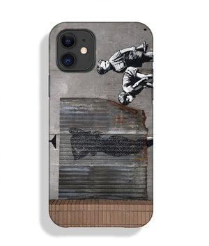 Banksy Woman In Shower Phone Case iPhone 11