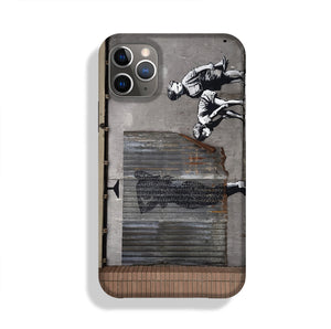 Banksy Woman In Shower Phone Case iPhone 11 Pro