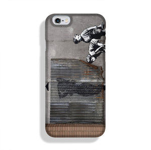 Banksy Woman In Shower Phone Case iPhone 6